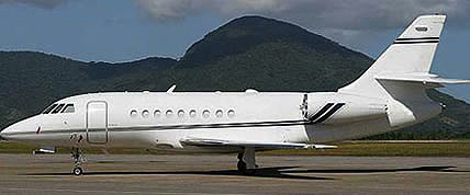 Falcon 2000 Private Jet